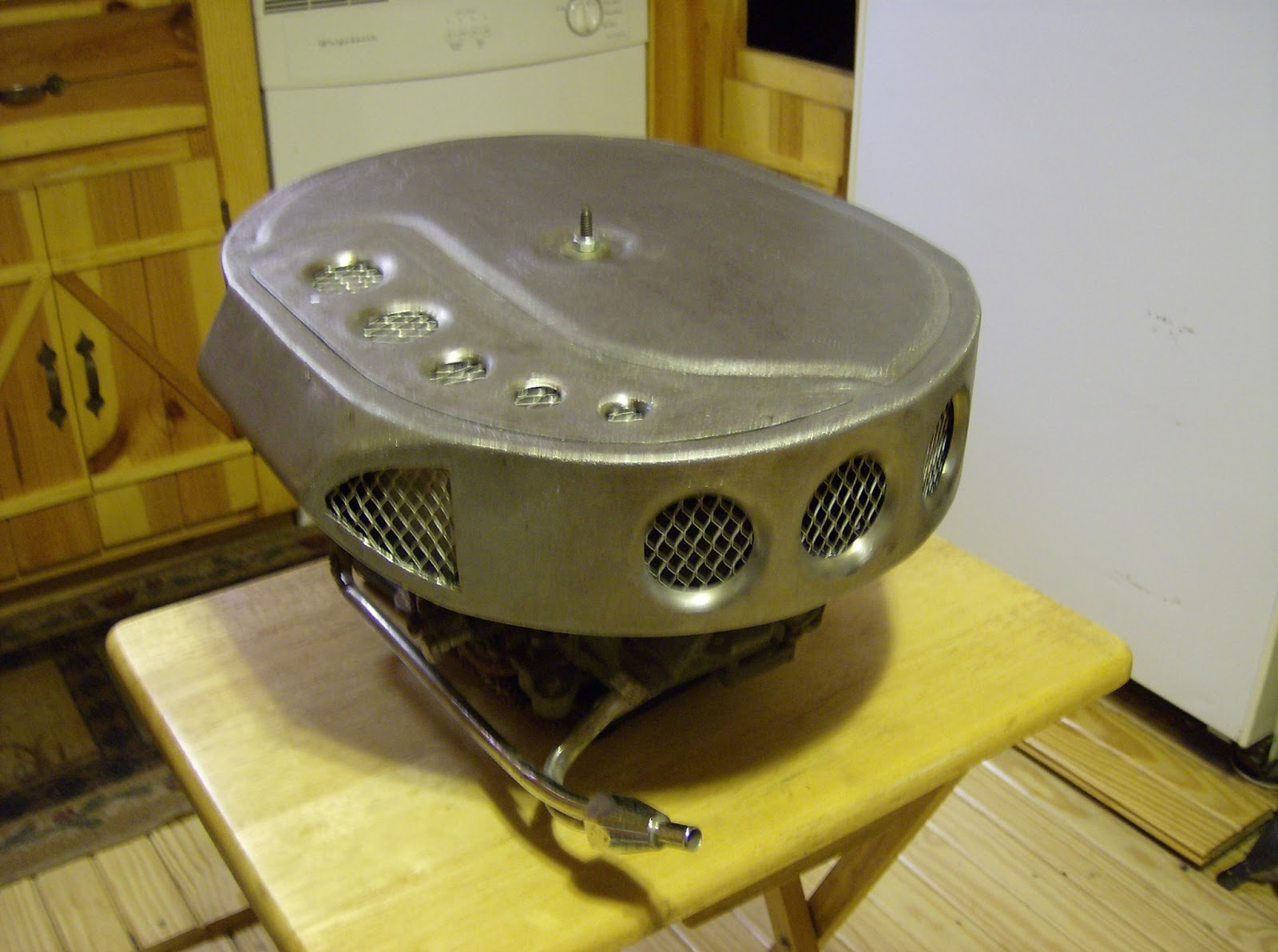 Custom Air Breather : Bh custom designs new aircleaner available