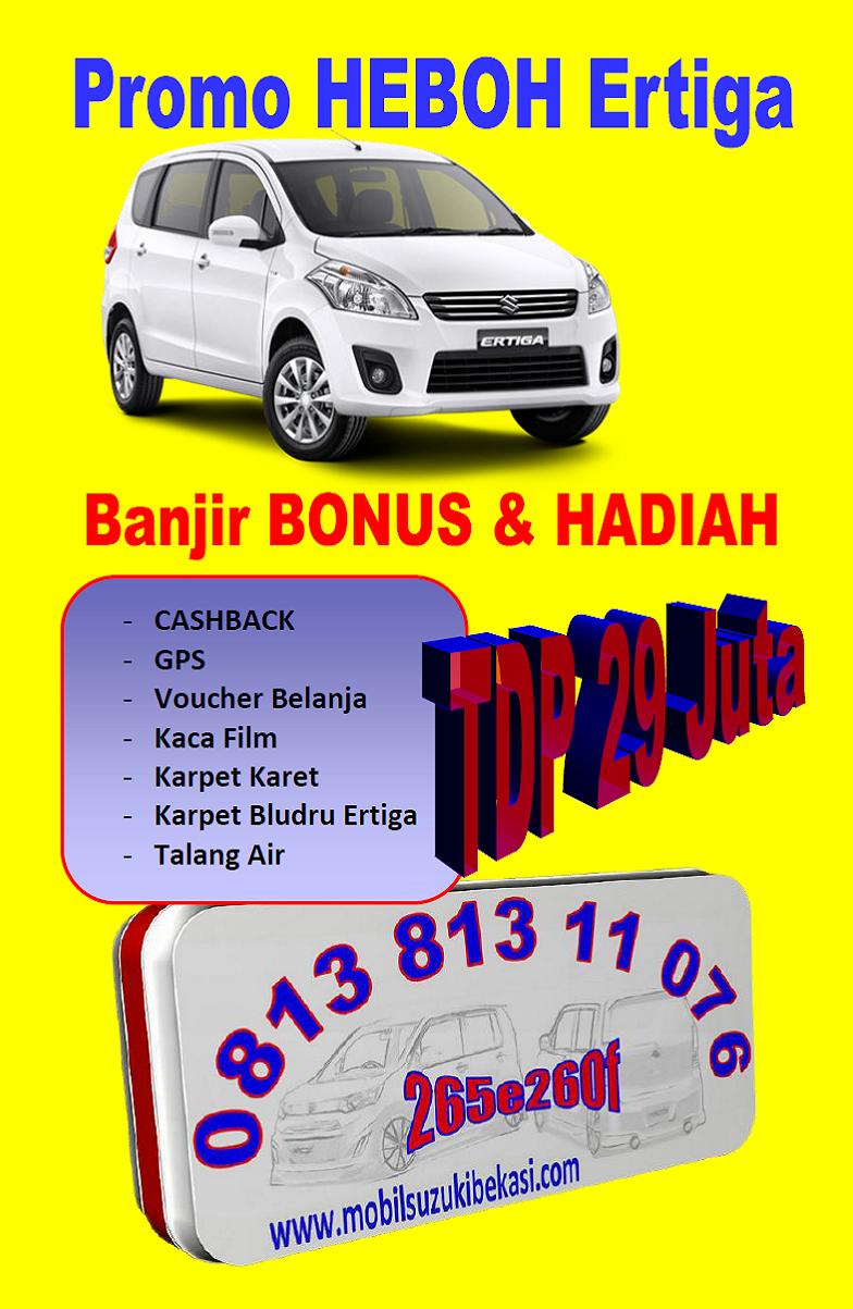 Bonus dan Cashback Suzuki Ertiga Bekasi 2014