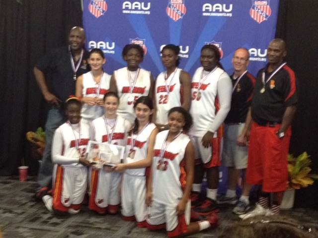 7th Grade AAU Back to School Champions
