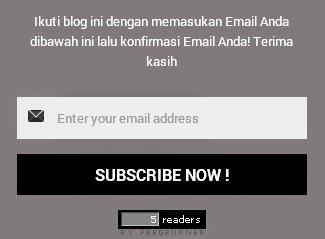 Cara Membuat Widget Subscribe Flat UI Responsive Di Blog