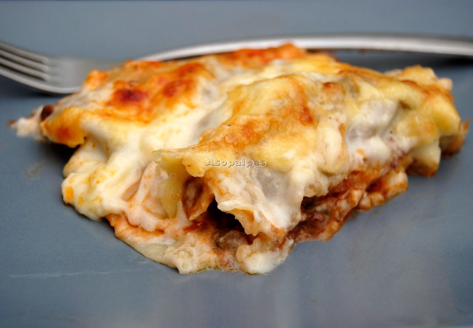 Canelones de carne picada y verduras receta asopaipas recetas de cocina casera - Que cocinar con carne picada ...