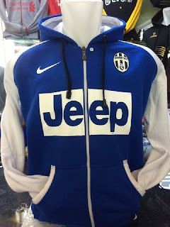 Jaket hoodie Juventus warna biru putih terbaru musim 2015 gambar detail jaket adidas musim depan 2017