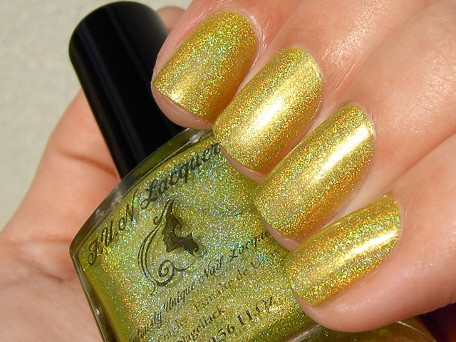 FUN Lacquer Summer 2014 Holo Polish Collection - Margarita Cocktail