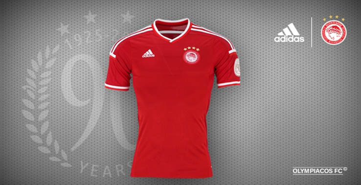 adidas olympiacos 1516 kits released footy headlines