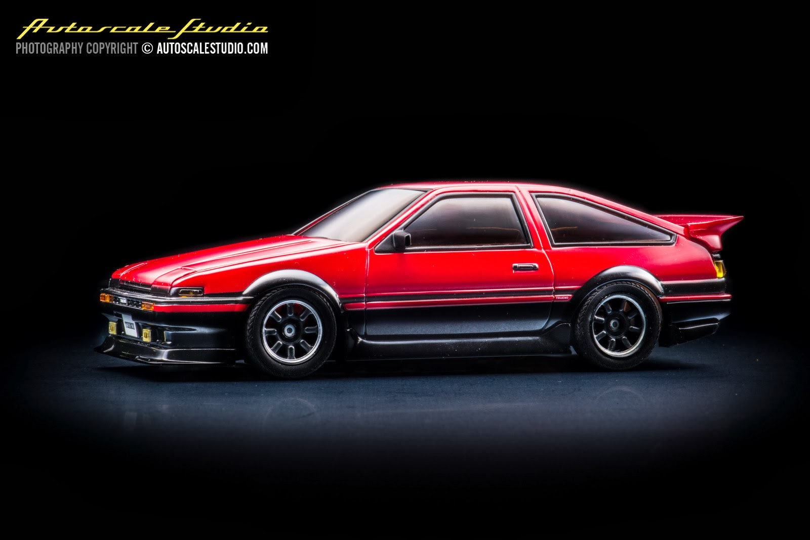 mzp410bkr toyota sprinter trueno ae86 aero version red. Black Bedroom Furniture Sets. Home Design Ideas