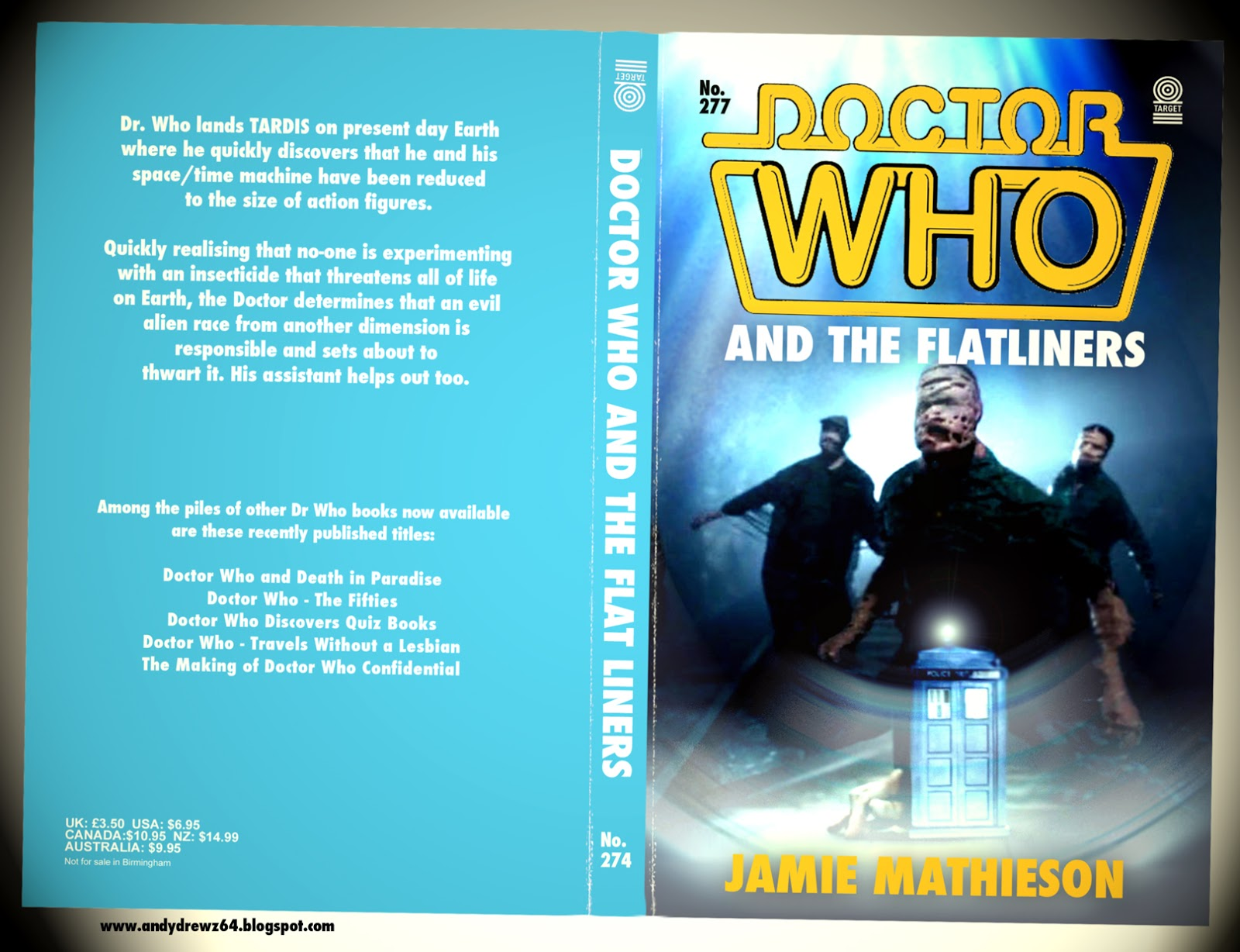 Book Covering Contact Target : Andydrewz s pages even more complete doctor who target