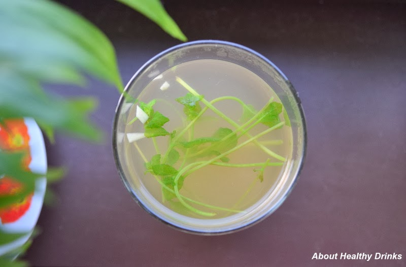 how to use fresh mint in drinks