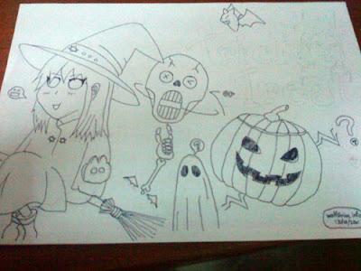 [Image: Halloween 未完成图]