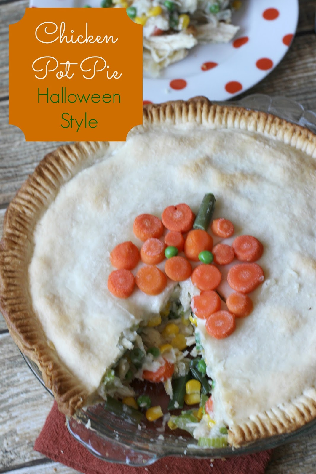 Chicken pot piehalloween style i dig pinterest this year birds eye has partnered with melissa darabian celebrity chef mom of four and host of foodnetworks web series the picky eaters project forumfinder Choice Image