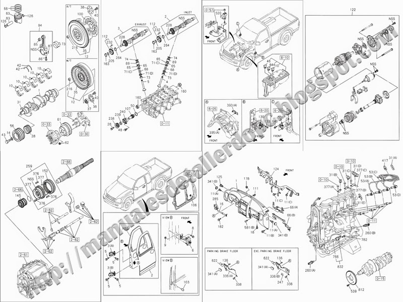 manual despiece chevrolet luv dmax