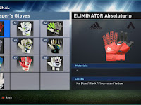 PES 2016 Goalkeeper Gloves Pack