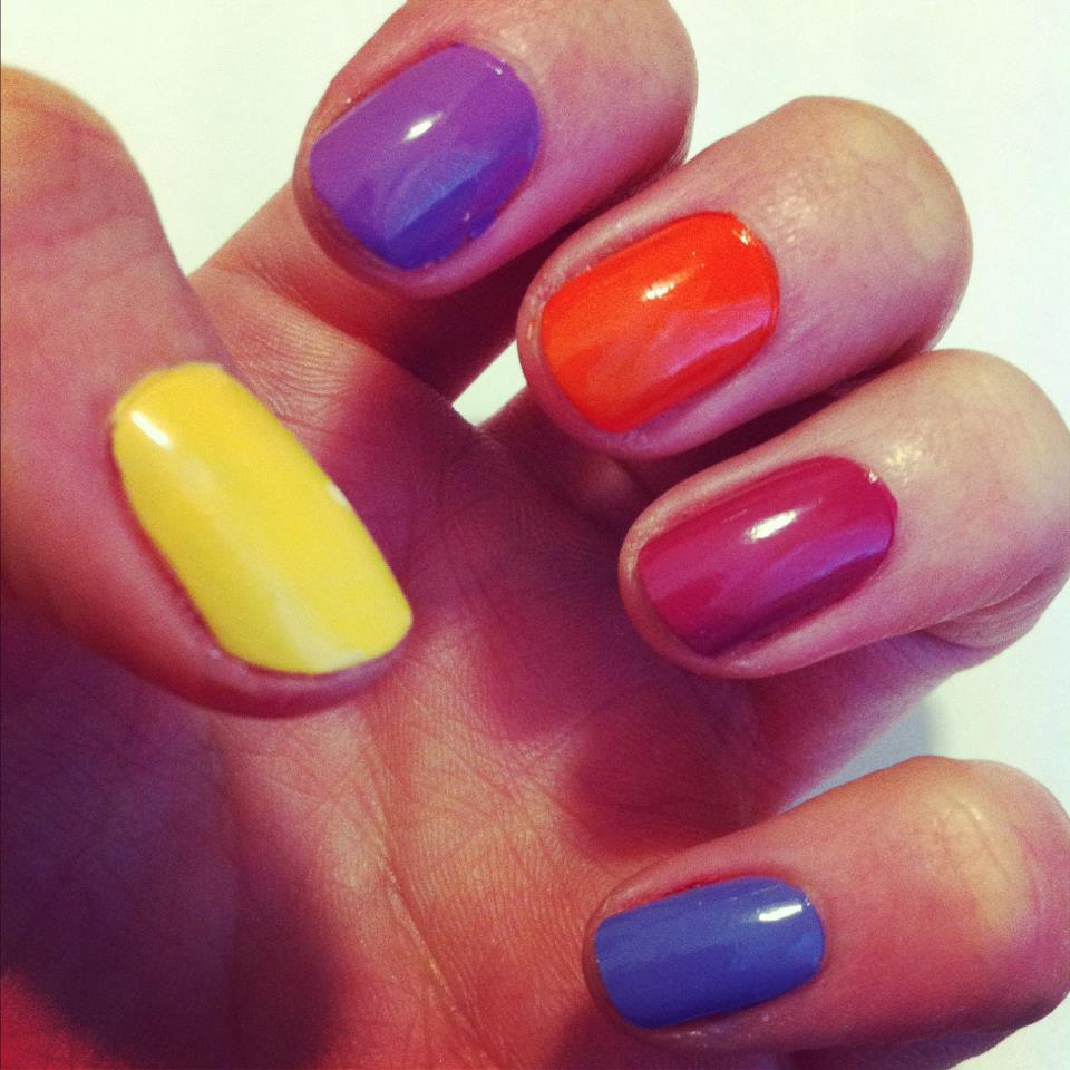 MUA nail polish shades to wear this Spring/Summer 2012