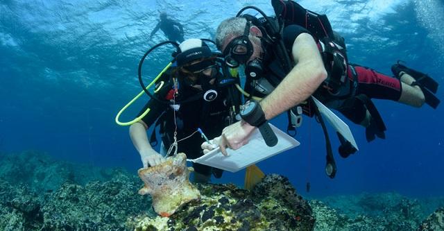 Νάξος: Αμφορείς και άγκυρες βρέθηκαν σε υποβρύχια αρχαιολογική έρευνα