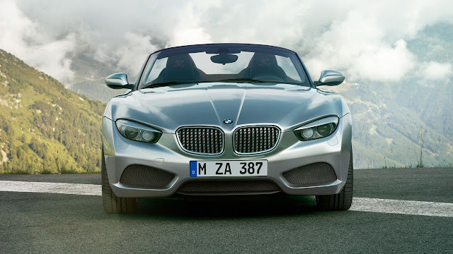 BMW Zagato Roadster front
