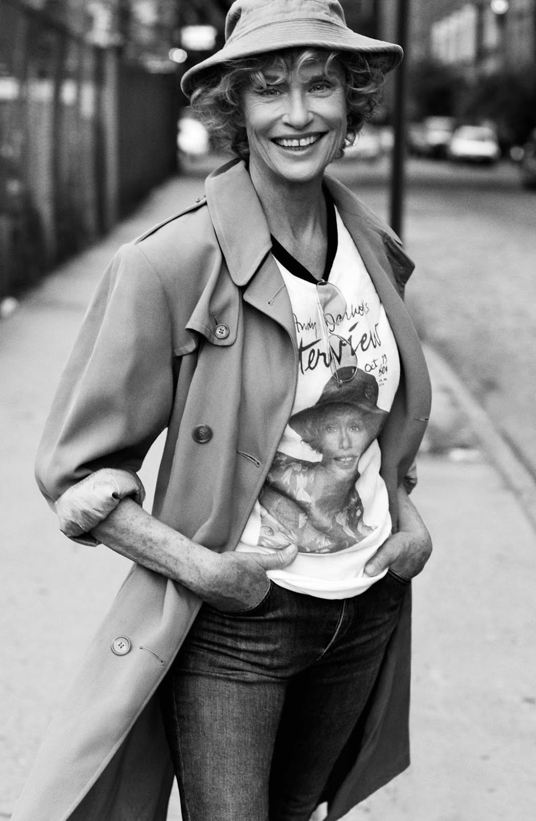 Lauren Hutton by Craig McDean, 2013