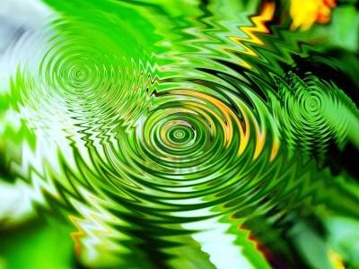 La spirale, mouvement de vie. - Page 10 9642402-circles-of-water-in-nature