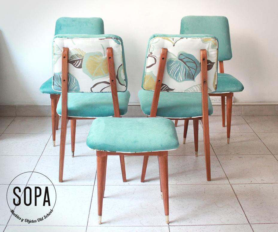 Sopa muebles y objetos old school sillas americanas - Sillas antiguas restauradas ...