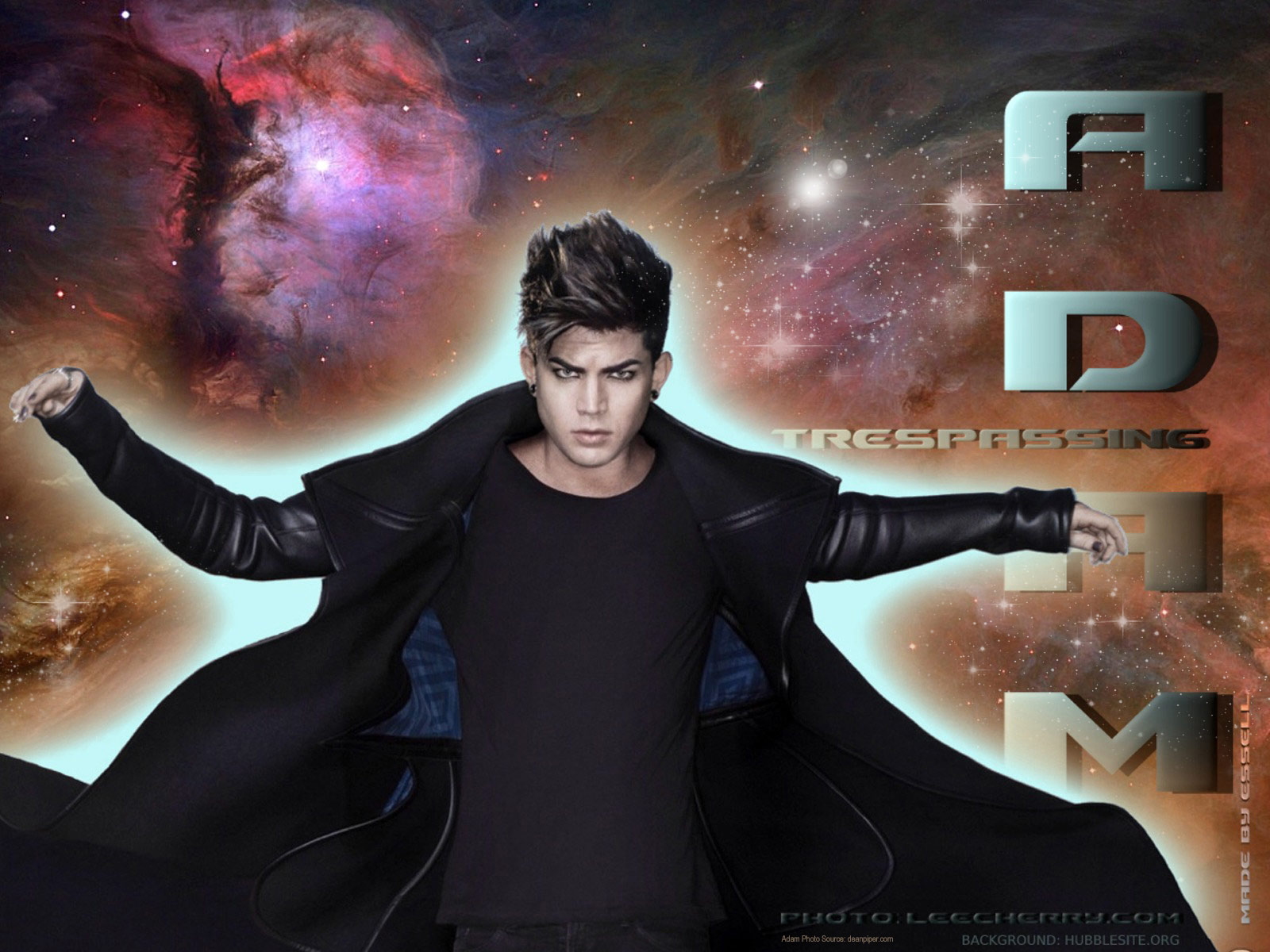 adam lambert love death black heart heroes