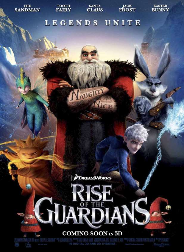 In theatres: life of pi; rise of the guardians