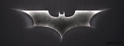 Facebook Cover Black and white batman