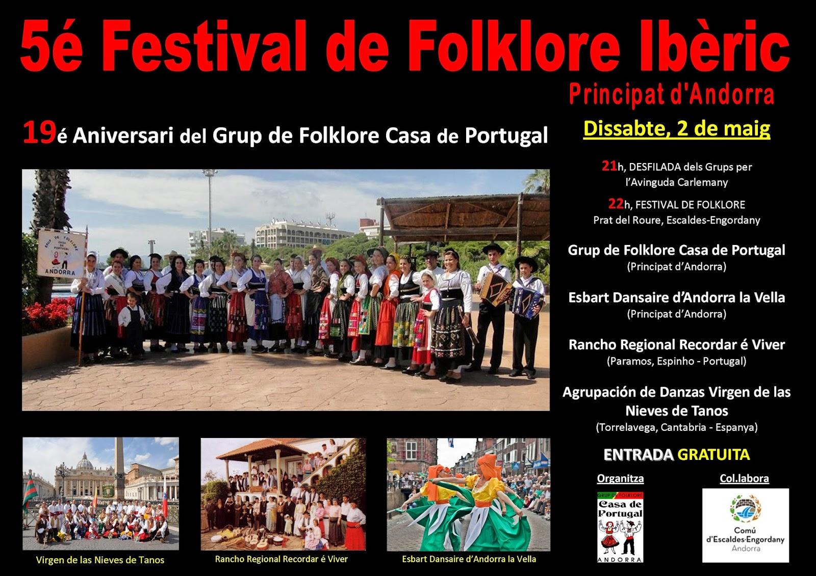 Festival de Folclore Ibérico – Principado de Andorra