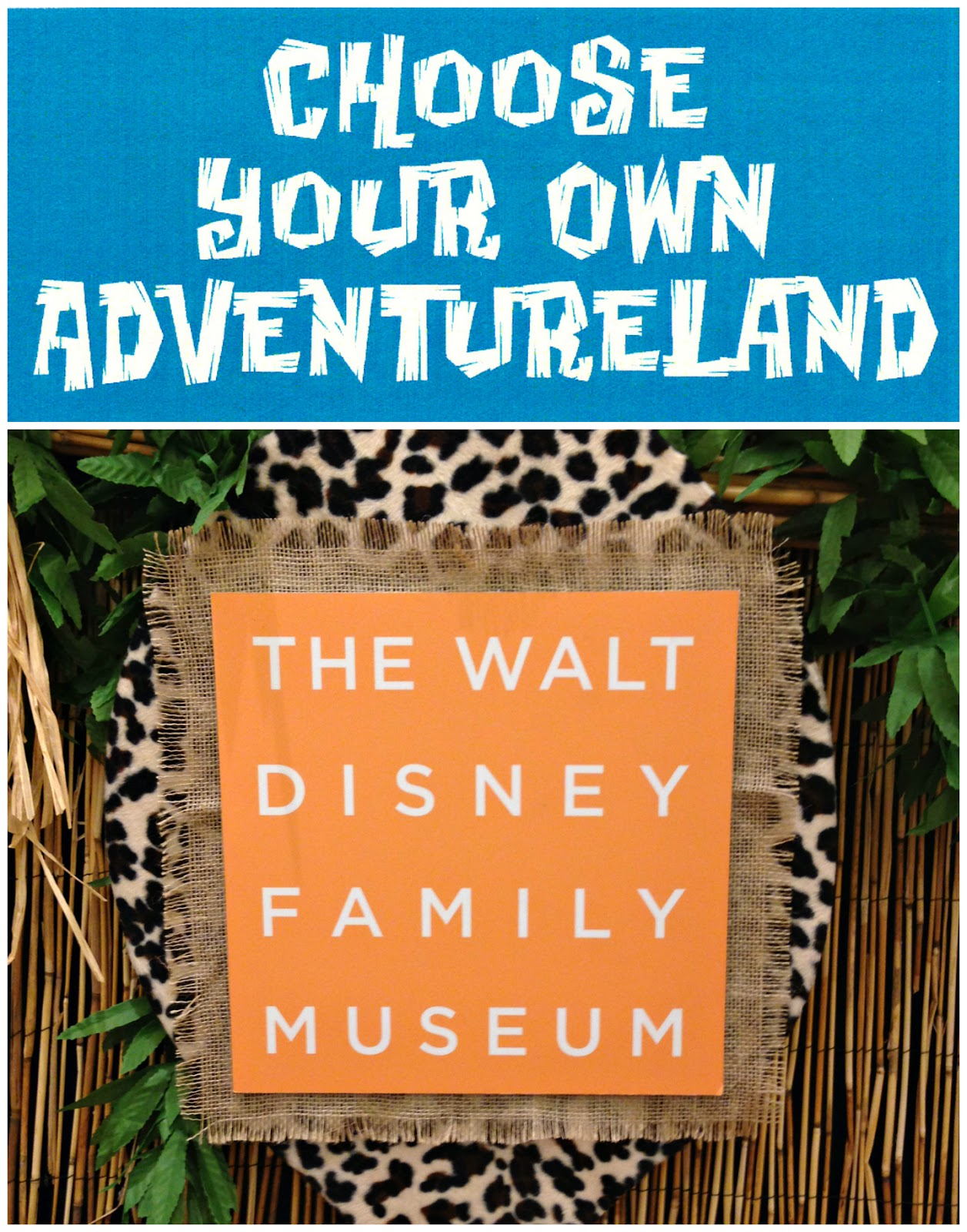 a review of Animate Your Night: Choose Your Own Adventureland at The Walt Disney Family Museum