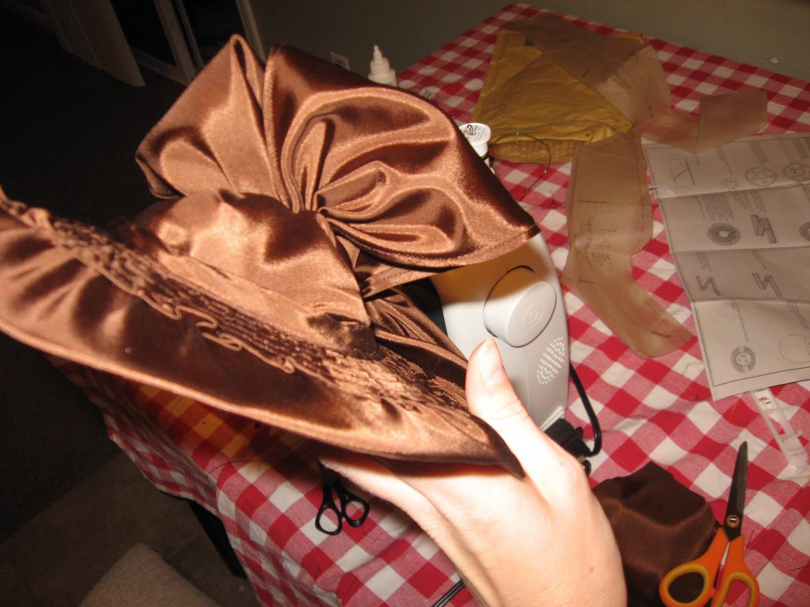 how to make a 1940s hat