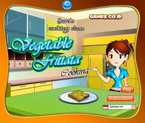 Permainan Memasak Vegetable Frittata