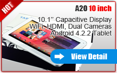 10'' HOT SALES DUAL-CORE TABLET