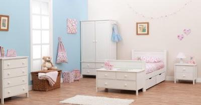 Muebles de dormitorio para ni os de color blanco infantil decora - Muebles dormitorio ninos ...