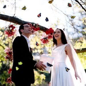 soltar mariposas en boda