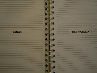 Goals & Highlights Training Log