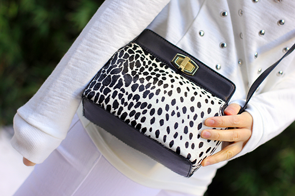 Ann Taylor Animal Print Handbag