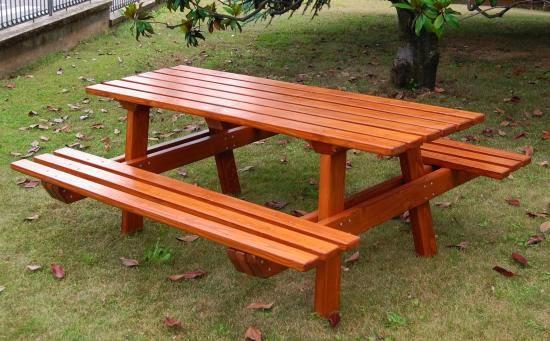 Cativa artesanato mesas e cadeiras de madeira para jardins - Panche da giardino ikea ...