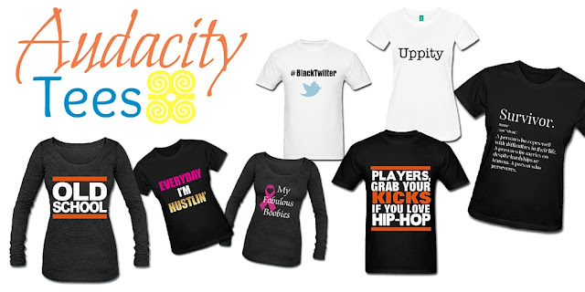 Old School, Uppity, #BlackTwitter, My Fabulous Boobies | Audacity Tees