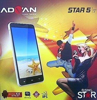Advan Star Fit S45A