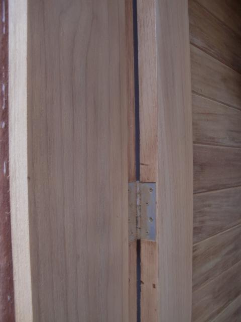 Decoraciones manualidades en madera como colocar una - Como colocar puertas correderas ...