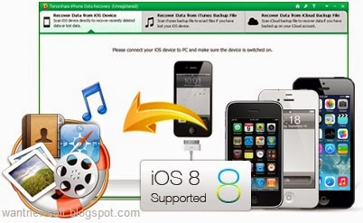 Tenorshare iPhone Data Recovery images