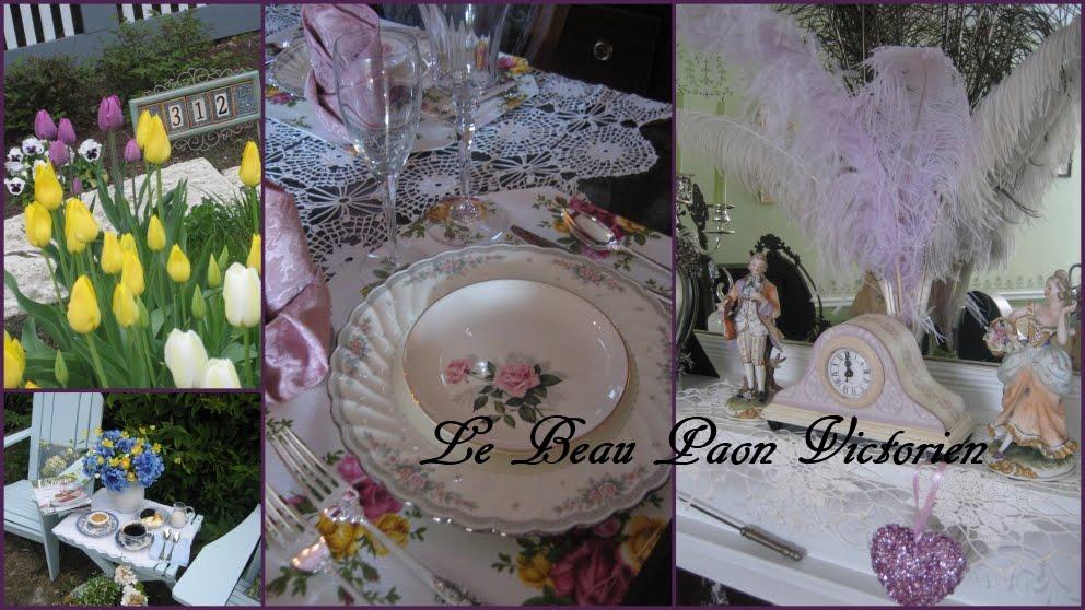 Le Beau Paon Victorien
