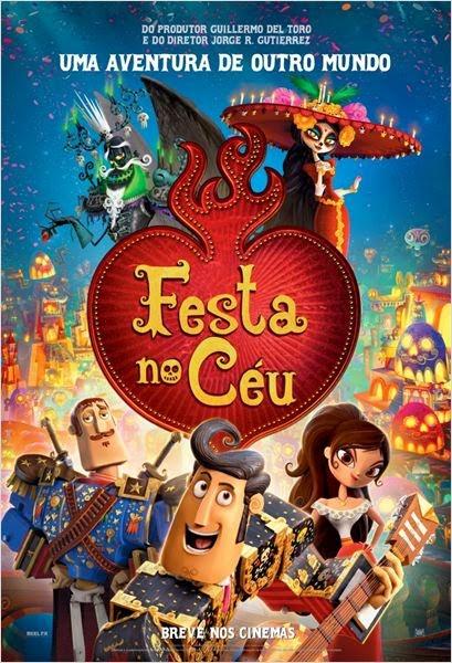Filme Festa No Céu Dublado AVI BDRip