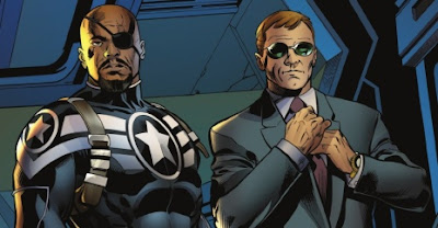 Nick Fury Jr. and Coulson
