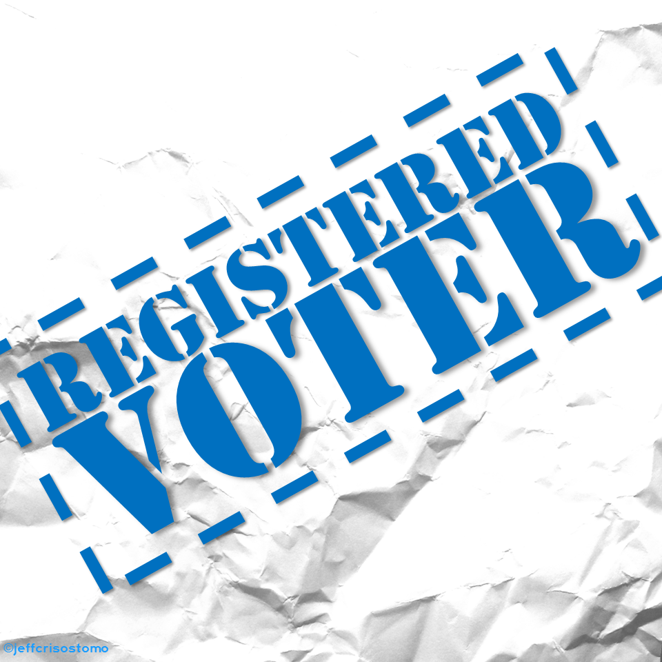 how to become a registered voter