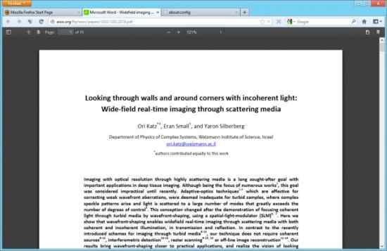 Fitur PDF Firefox 15