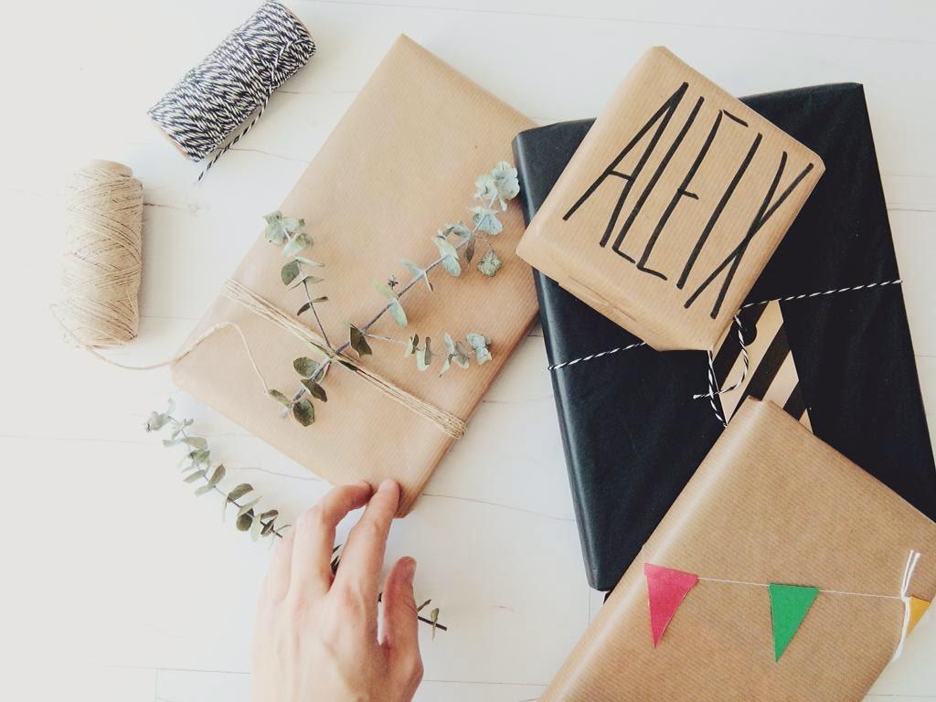 envolver regalo packaging