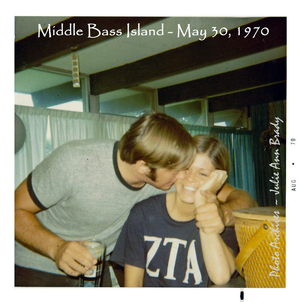 ONU Outing - Middle Bass Island May 30, 1970