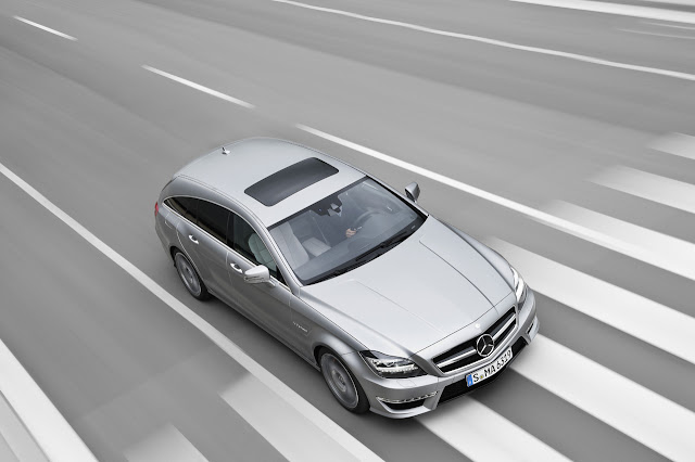 Mercedes-Benz CLS 63 AMG Shooting Brake 2013