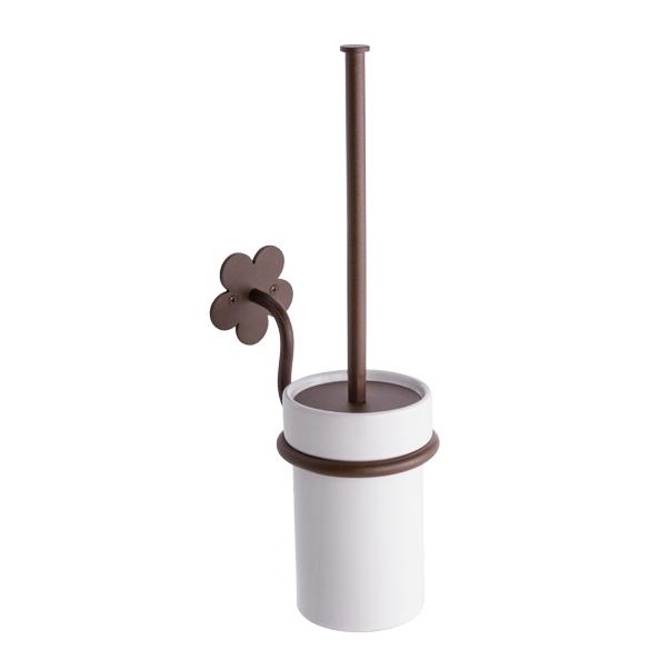 escobillero forja pared baño