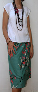 Como hacer una falda de verano con tela de algodón