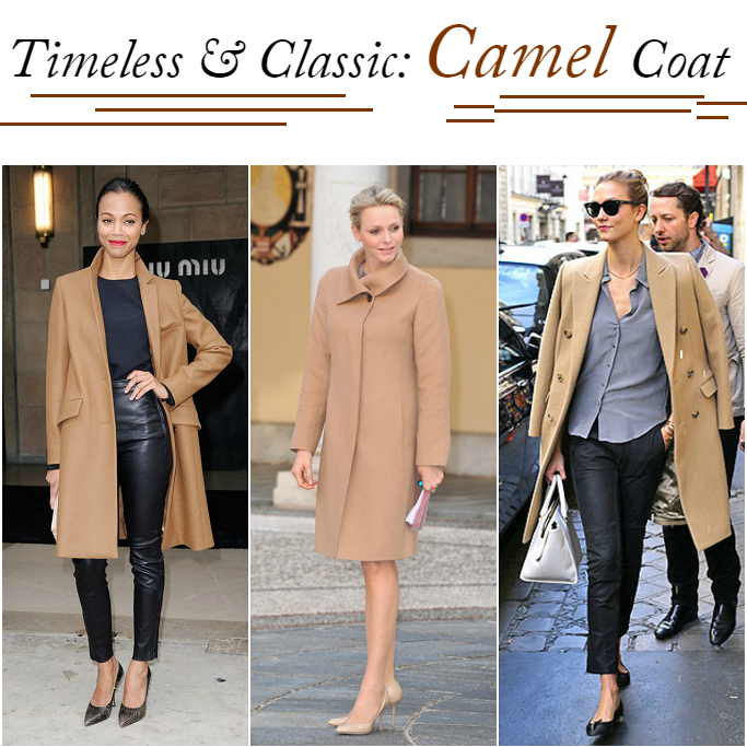 Zoe Saldana Camel Coat, Celebrities in camel coat, How to style a camel top coat, Camel over coat, Karlie Kloss Camel Coat