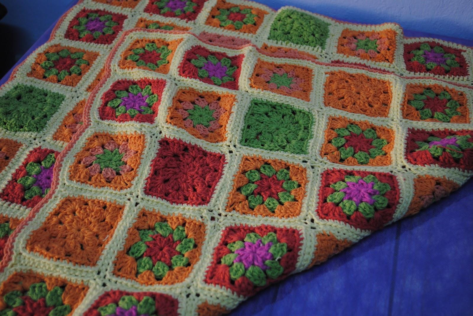 Mundo cafita julio 2012 - Mantas de lana hechas a mano ...
